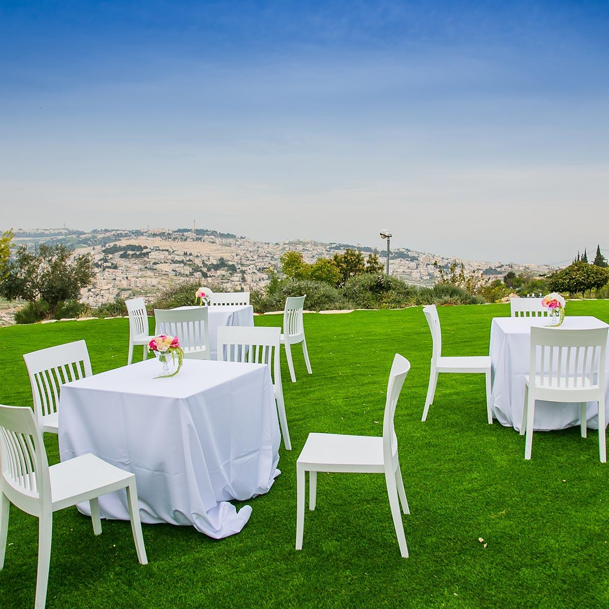 venue with garden