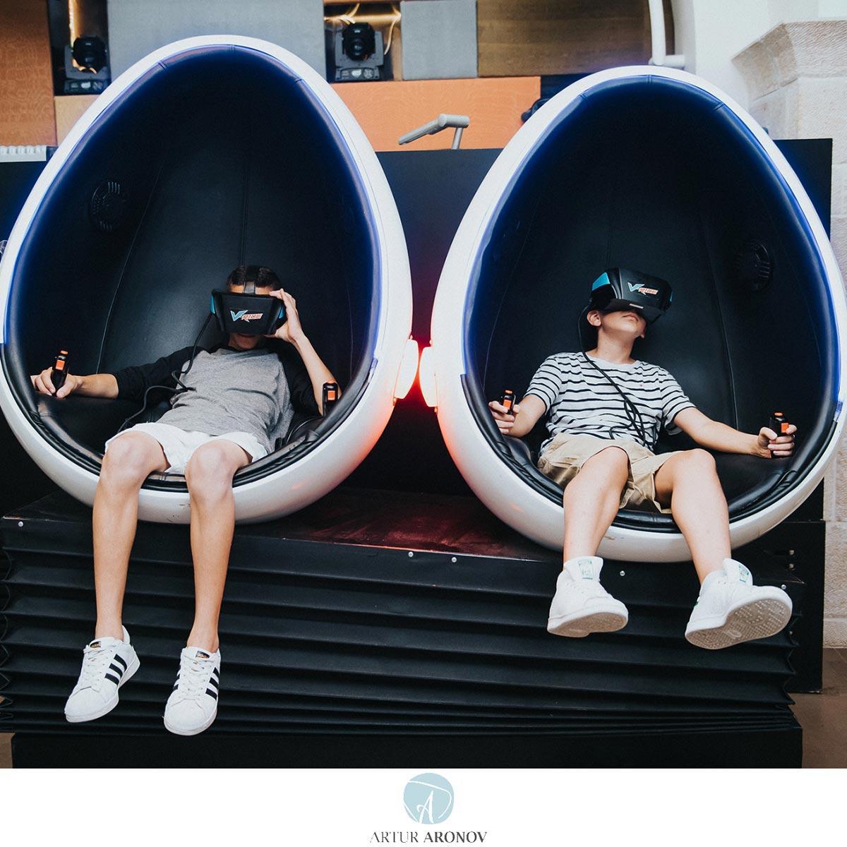 Virtual reality zone