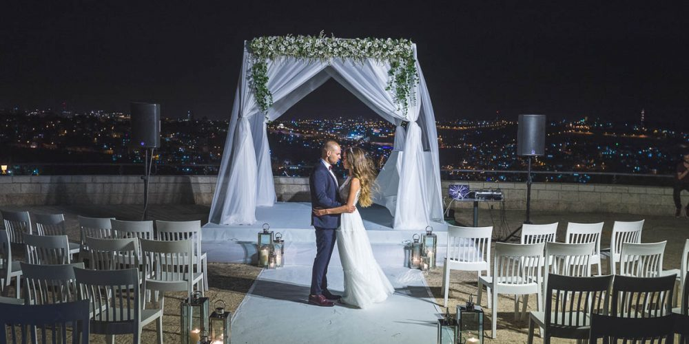 romantic wedding in jerusalem