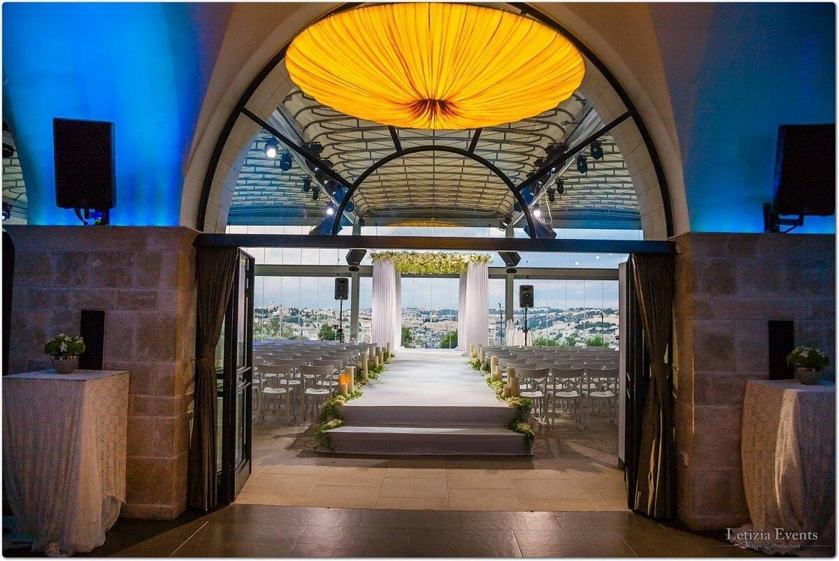 chuppa entrance