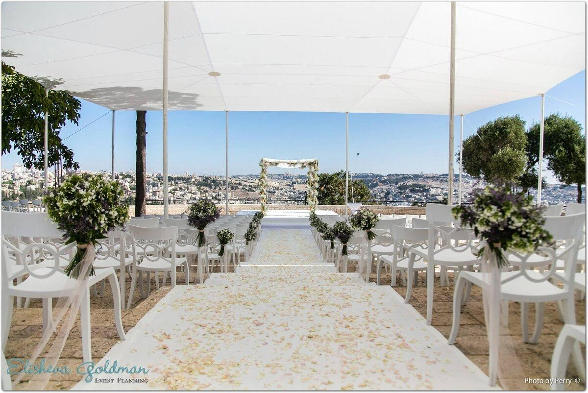noon wedding in jerusalem