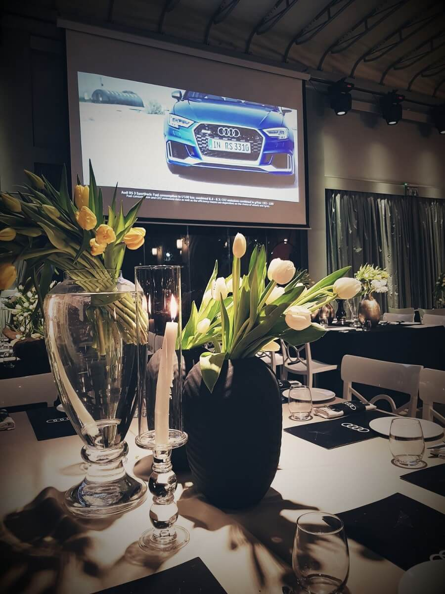 audi event in israel