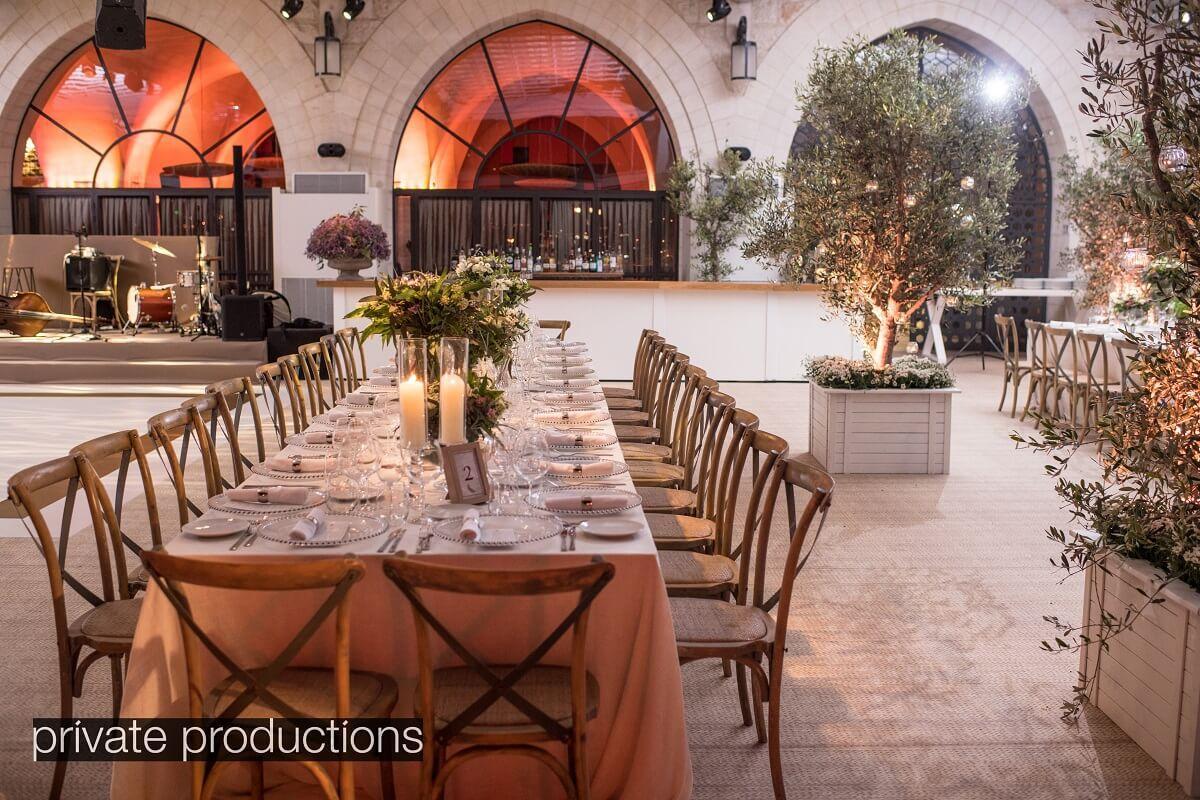 luxury venue in israel
