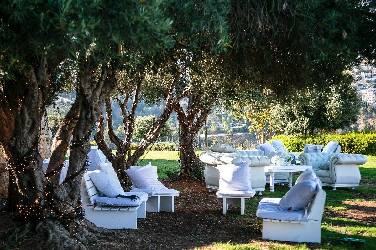 venue with garden luxury venue in jerusalem